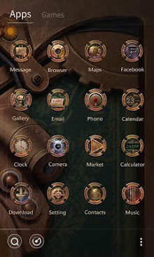 Steam age GO Launcher Theme-2