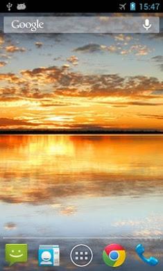 Sunset Lake Live Wallpaper-1