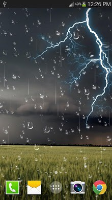 Thunder storm Live Wallpaper FREE-1