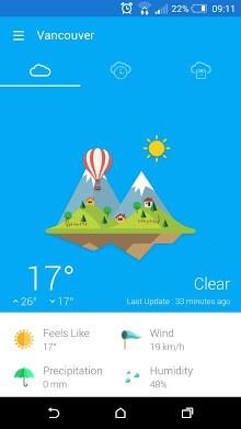 Weather 360 - forecast & widget-1