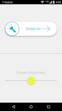 White Light Flashlight-1