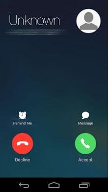i Call screen Free-1