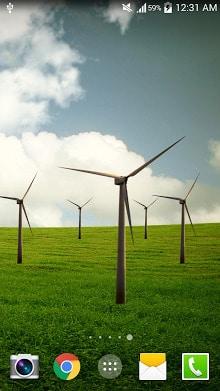 Windmill Live Wallpaper FREE-1