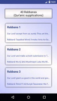 40 Rabbanas (duaas of Quran)-2