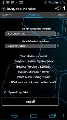 busybox installer 4.1 apk