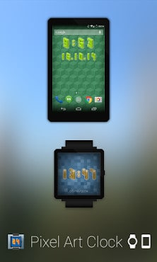 Pixel Art Clock-1