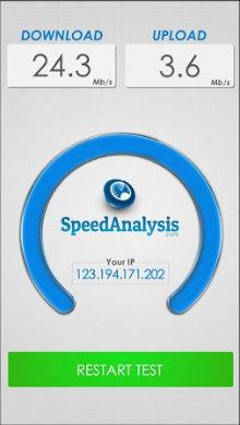 SpeedAnalysis Speed Test-2