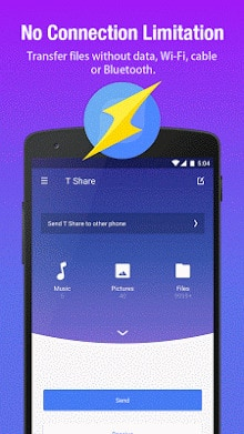 T Share-Best File Transfer App-2