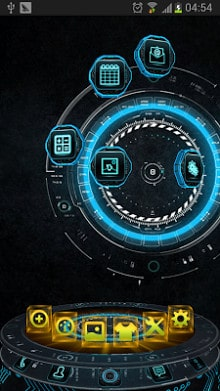 Tech Next Launcher 3D Theme-1