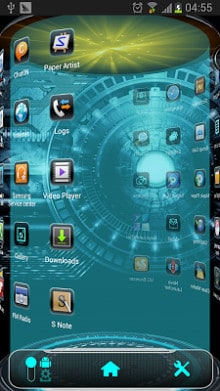 Tech Next Launcher 3D Theme-2