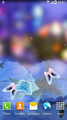 Abstract Butterflies Wallpaper-1