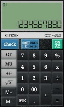 CITIZEN CALCULATOR-1