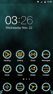 Circuit Hola Launcher Theme-1