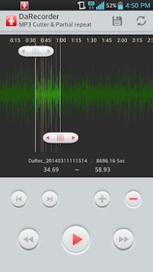 Hi-Quality Voice Recorder MP3-2