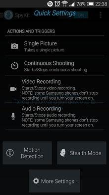 Spy Kit Motion Detector Camera-2