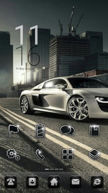 CityRacing LINE Launcher theme-1