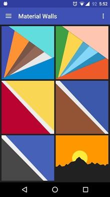 素材墙纸(Android M)-1