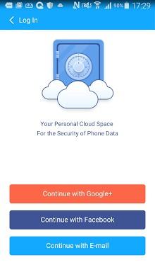 CM Security-2 ၏တိမ်တိုက်အာကာသ
