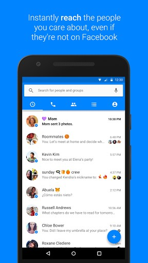 Facebook Messenger APK for android | APK Download For Android