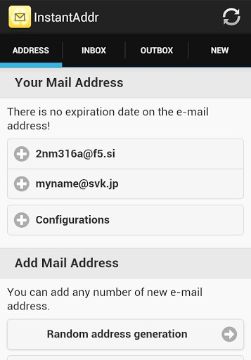 Instant Email Address | APK Download For Android