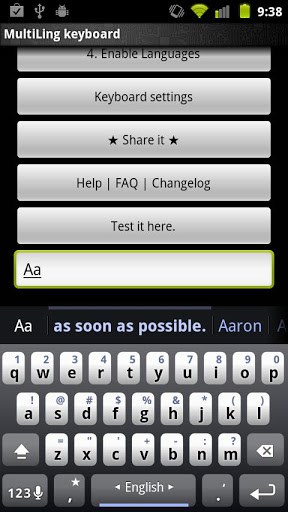 MultiLing Keyboard Free | APK Download For Android