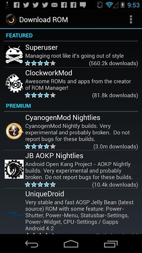 ROM Manager For Free | APK Download For Android