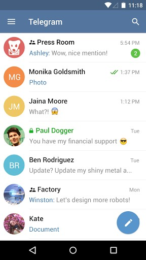 Download Telegram for free | APK Download For Android