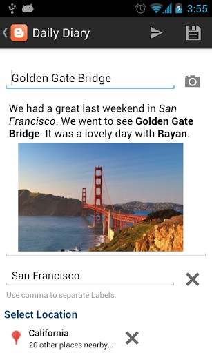 Blogger APK for android | APK Download For Android