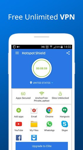 Hotspot shield vpn 4. 2. 2 apk android apktrunk.