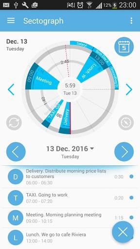 S Graph: Calendar clock widget | APK Download for Android