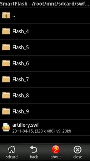 smart swf player flash viewer apk download for android
