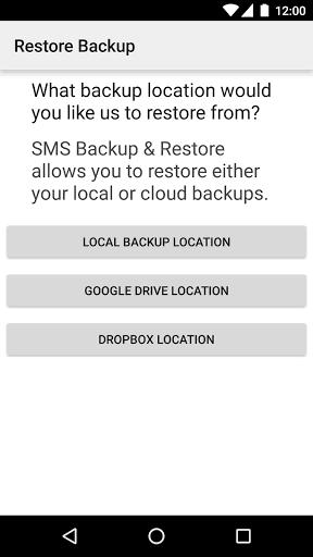 SMS Backup-FAQ