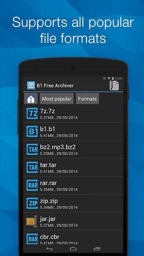 B1 Archiver zip rar unzip |,APK Download For Android