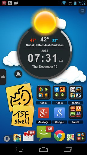 TSF Launcher 3D Shell | APK Download for Android