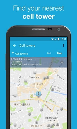 OpenSignal - 3G 4G WiFi Maps & Speed Test   APK Download For