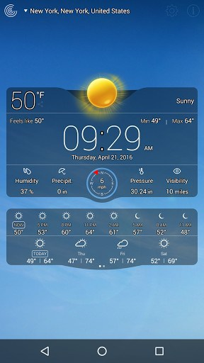 Weather Live with Widgets Free APK Download for Android