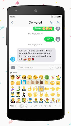 One Message 7 - Emoji, Flat APK Download for Android