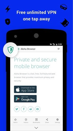 Aloha Browser & Downloader | APK Download for Android