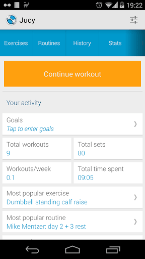 Jucy Workout Gym & Fitness Log | APK Download for Android