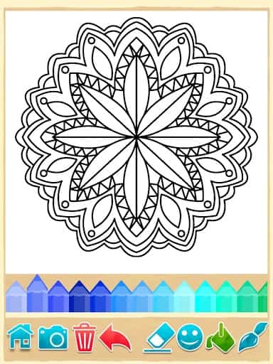 Mandala Coloring Pages | APK Download for Android