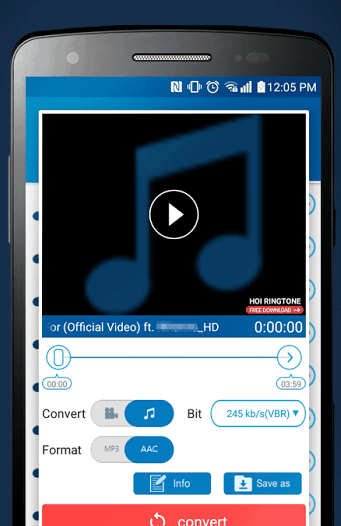 M4A to MP3 Converter (free version) download for PC