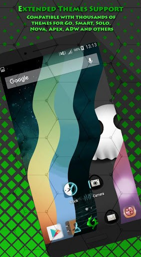 Green Flame Launcher + Themes 2017 | APK Download for Android