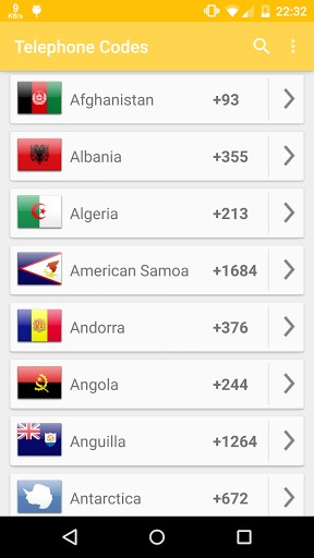 Phone Codes of the World | APK Download for Android
