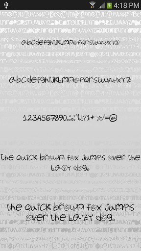 Silly fonts for FlipFont free | APK Download for Android