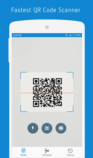 Scan QR Code and Barcode Reader UI Scan app Barcode
