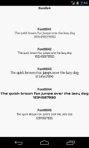 Fonts for FlipFont 4 APK | APK Download for Android