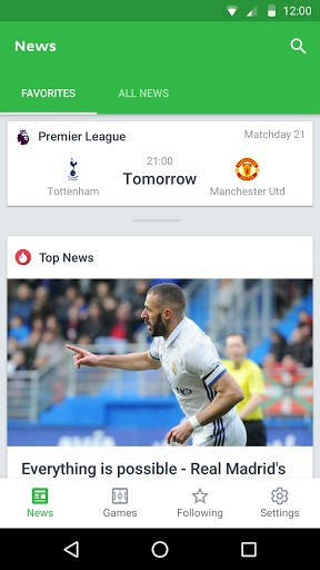 Onefootball Live Soccer Scores | APK Download for Android