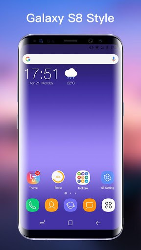 Ss S8 Launcher For Galaxy S8 Theme Icon Pack Apk Download For Android
