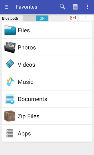 share via http - file transfer apk