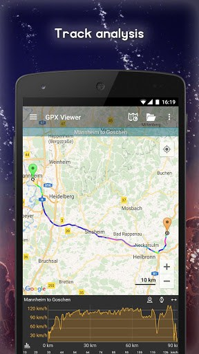 GPX Viewer - Tracks, Routes & Waypoints | APK Download for